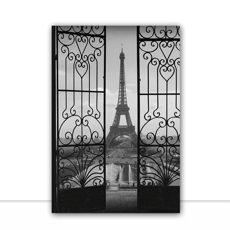 Torre Eiffel Colage Black por Joel Santos