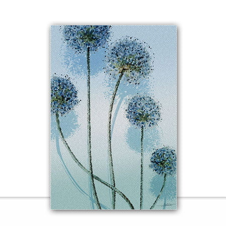 Mosaic Flowers I por Joel Santos