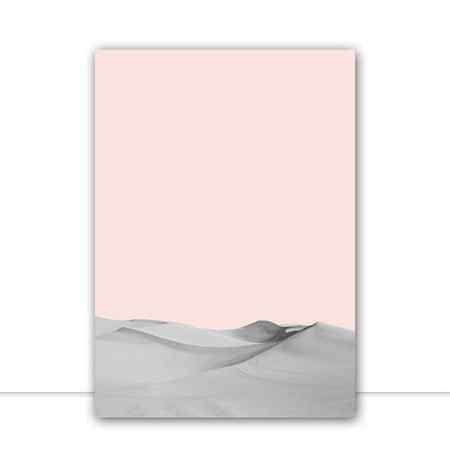 Quadro Deserto Minimalista por Vitor Costa