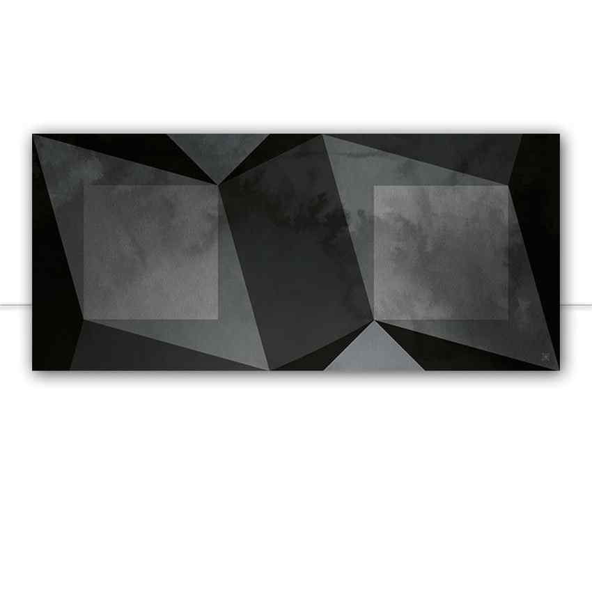 Geometric shades of gray panoramico por Joel Santos