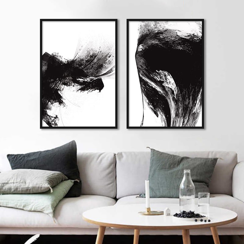 Conjunto de quadros Dark explosion & Feeling por Art Tonial