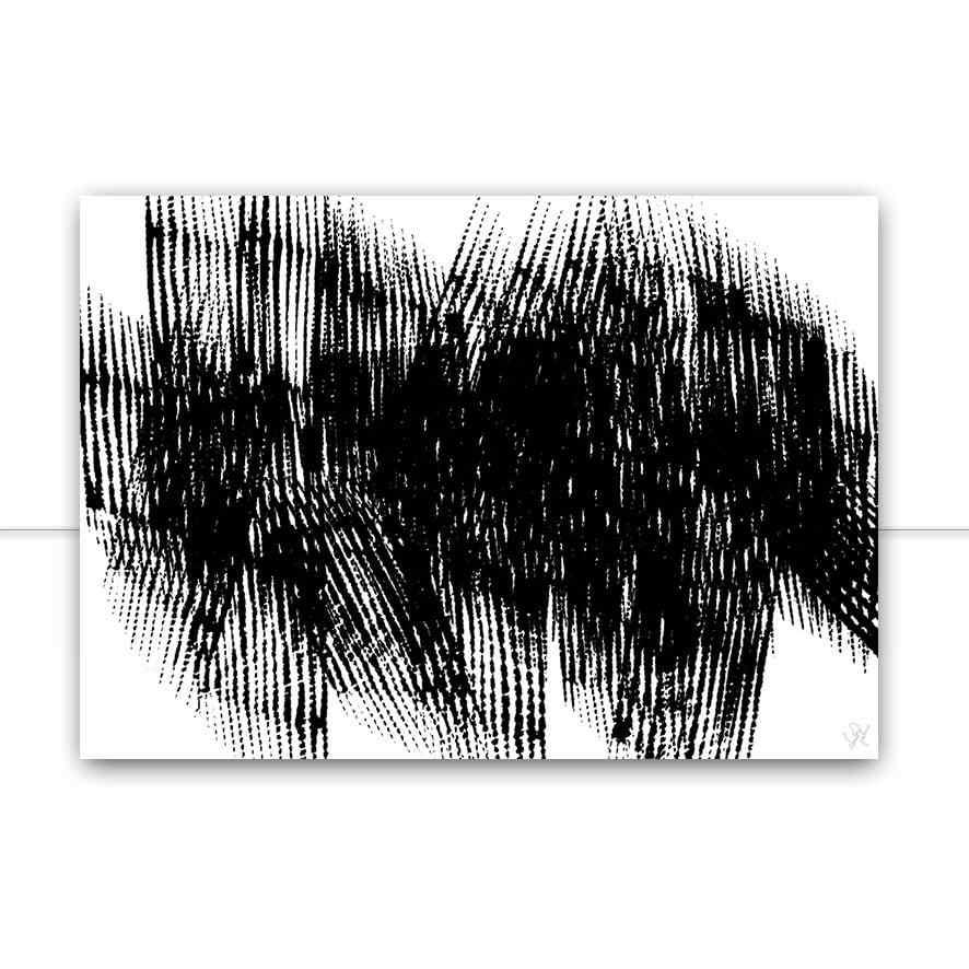 Quadro All Black por Isadora Fabrini