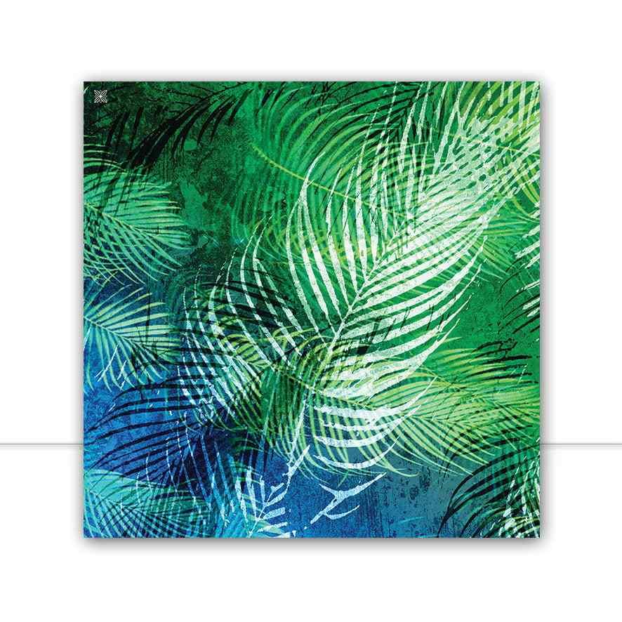 Quadro Blue Leaf FULL Q I por Joel Santos