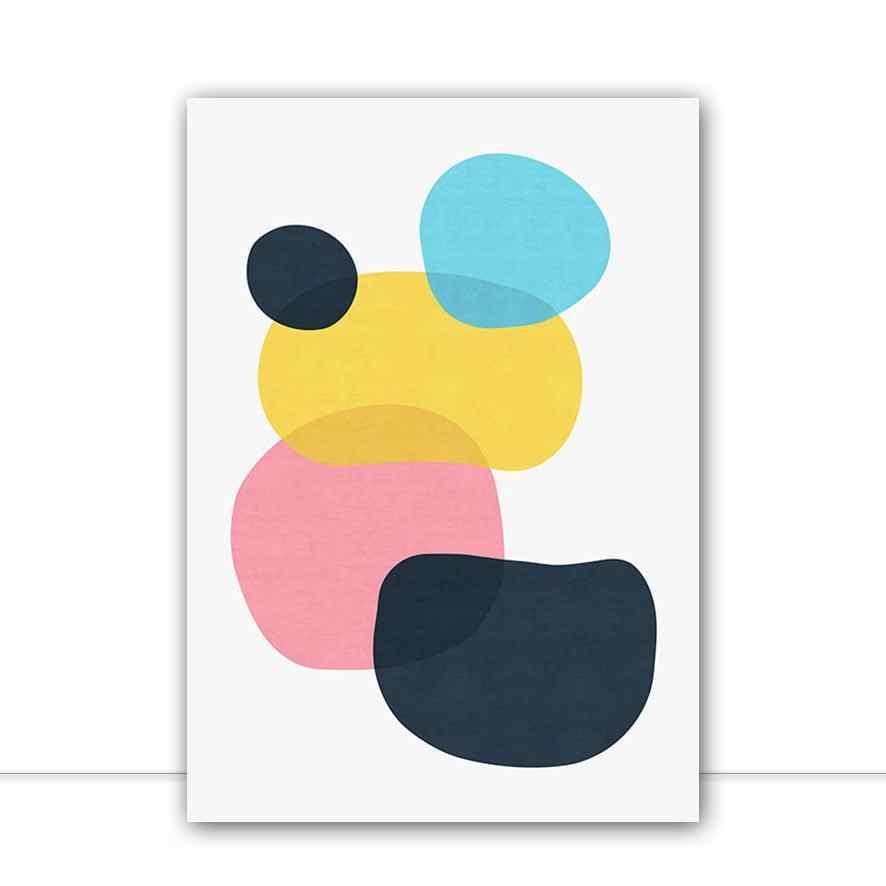 Quadro Manchas abstratas XII por Vitor Costa