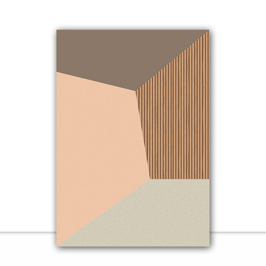 Quadro Minimal Adobe por Larissa Ferreira
