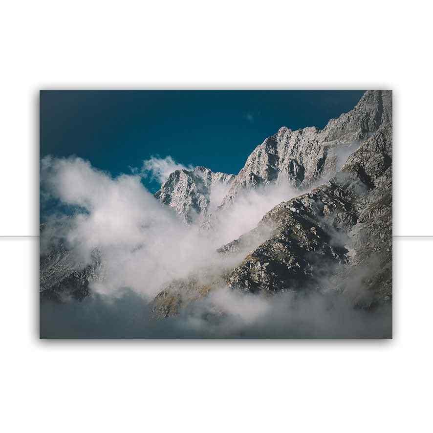 Quadro Montanhas indianas por Patricia Schussel Gomes