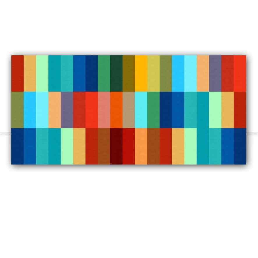 Quadro Padrão colorido IV por Vitor Costa