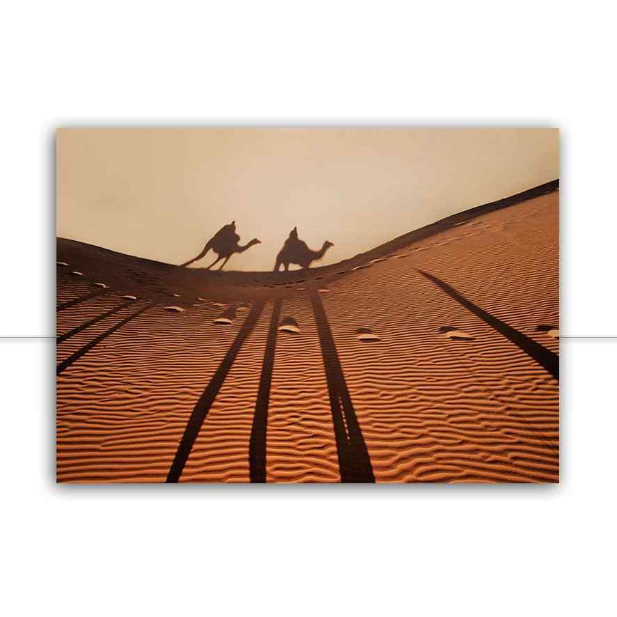 Quadro Passeio nas dunas por Patricia Schussel Gomes