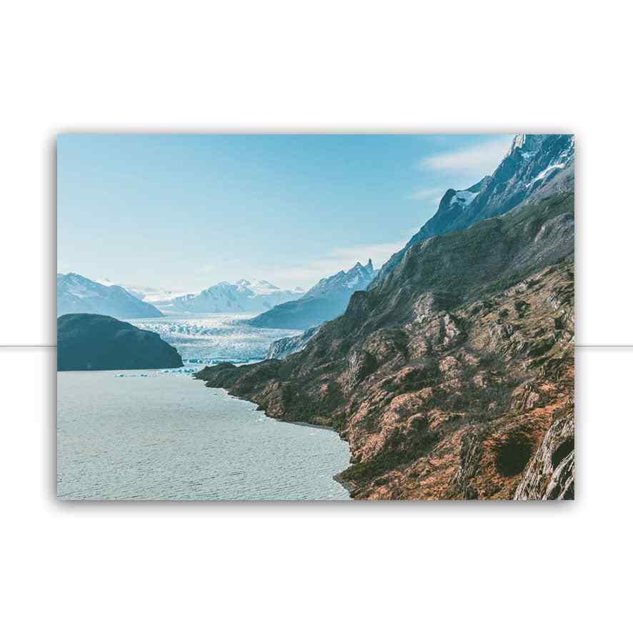 Quadro Torres Del Paine 04 por Patricia Schussel Gomes