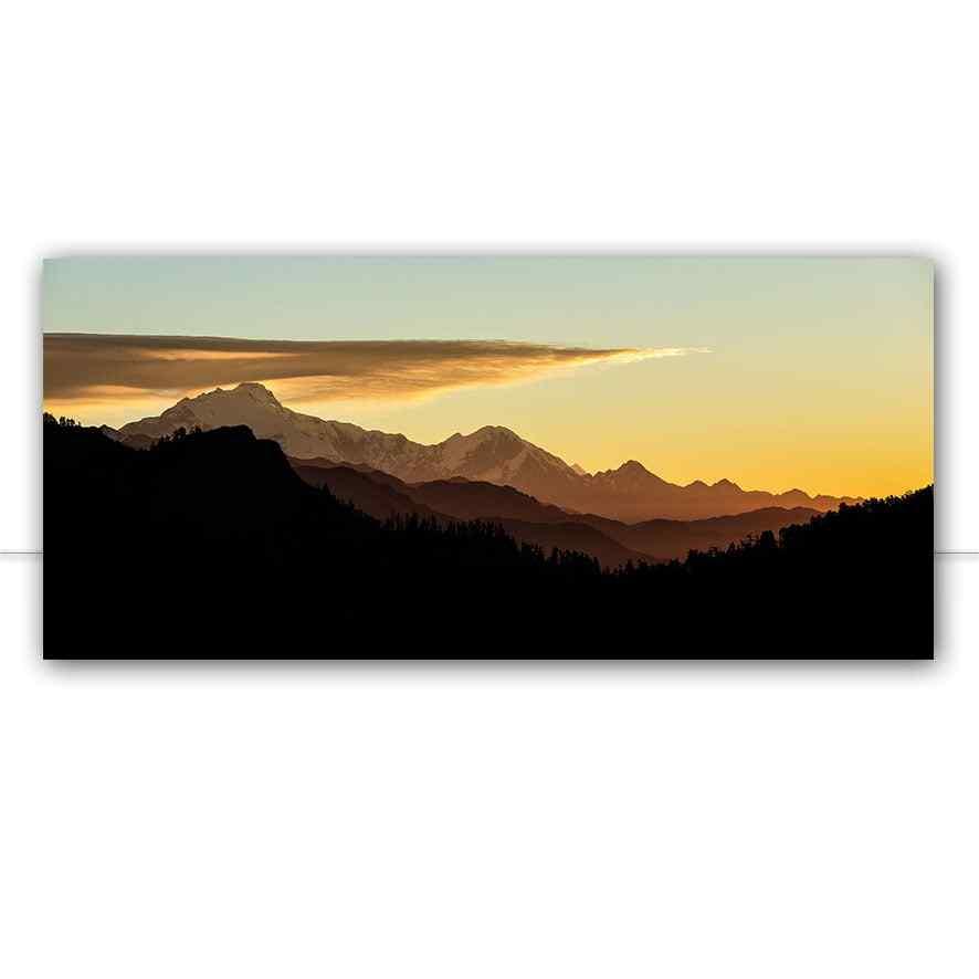 Quadro Yelow Himalaia por Felipe Hoffmann
