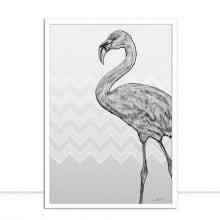 flamingo Grey por Joel Santos