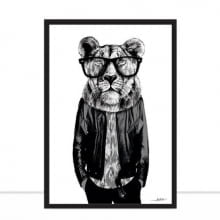 Lion Style P&B por Joel Santos