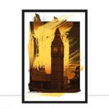 Big Ben Pencil Art por Joel Santos