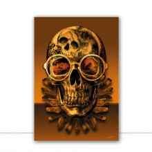 Skull Pop Gold por Joel Santos