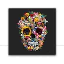 Skull Flowers III Q por Joel Santos