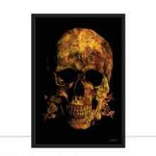 Skull New Gold por Joel Santos