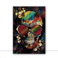 Skull Colours III por Joel Santos