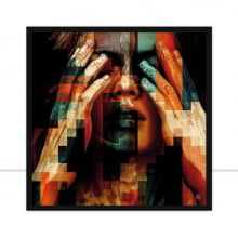 Pixel Woman Q por Joel Santos