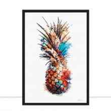 Pineapple Draw Art por Joel Santos