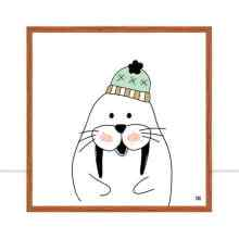 walrus winter por Dot Dugeau