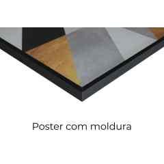 Quadro Composição Triangular V por Vitor Costa