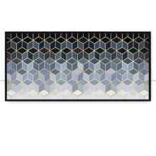 Quadro Mosaico dourado VI por Vitor Costa