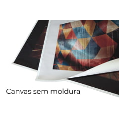 Quadro Botânico e geométrico III por Vitor Costa