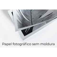 Quadro Iminente Noir I por Larissa Ferreira