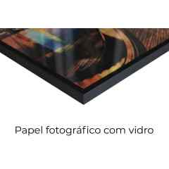 Quadro Layers blue por Art Tonial