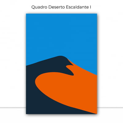 Composição de Quadros Cores do Deserto por Vitor Costa