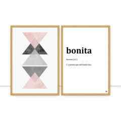 Conjunto de Quadros - Geometria Bonita