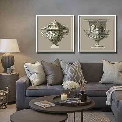 Conjunto de quadros Ânfora Grega por Lucas Santos