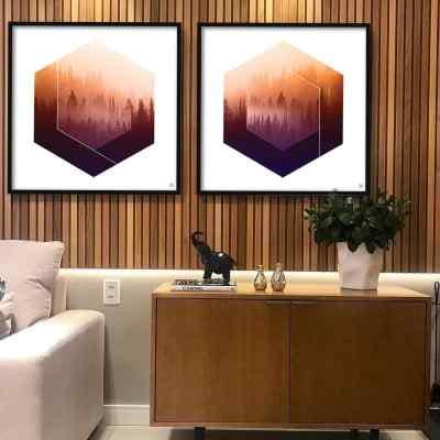 Conjunto de quadros Forest por Joel Santos