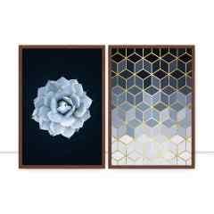 Conjunto de quadros Mosaico por Vitor Costa