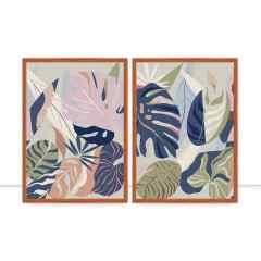 Conjunto de quadros Natural Mystic por Bruna Deluca