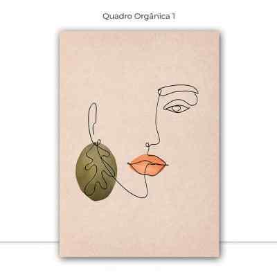 Conjunto de Quadros Orgânica por Bruna Deluca