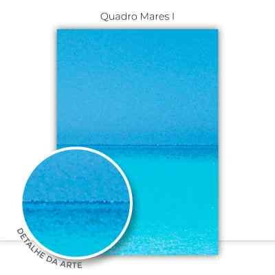 Conjunto de Quadros Trio Mares por Juliana Bogo