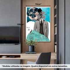 Quadro Colagem Clássica por Herisson Ferreira Costa