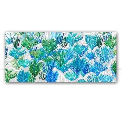 Quadro Algas azuis e verdes por Sussu e Juju