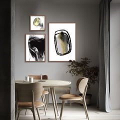 Composição de quadros Stains por Art Tonial