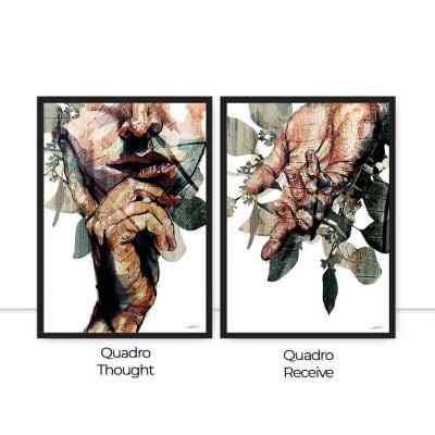 Conjunto de Quadro Thought Receive por Joel Santos