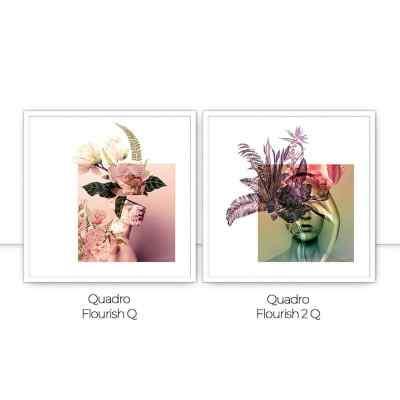 Conjunto de Quadros Flourish I por Joel Santos