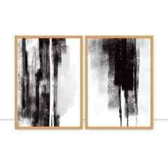 Conjunto de quadros Sintonia por Art Tonial
