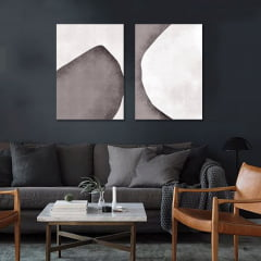 Conjunto de quadros Somewhat por Art Tonial