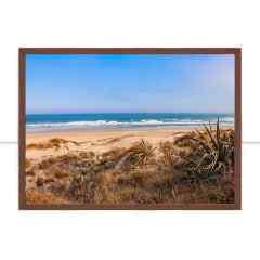 Quadro A praia por Mafe Romero