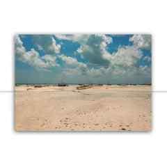Quadro A praia sem mar por Mafe Romero