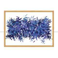 Quadro Abstract Blue II por Isadora Fabrini
