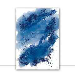 Quadro Abstract blue por Isadora Fabrini