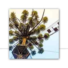 Quadro Árvore escalada com vista do céu 2 por Pignata