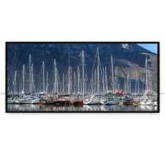 Quadro Barcos Cape Town Pan por Marcelo Baldin & Sâmia Munaretti